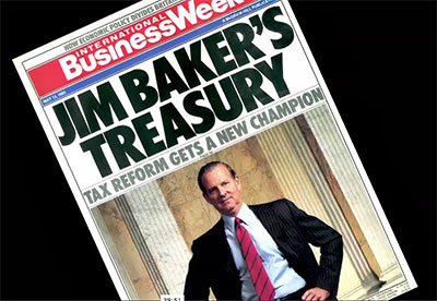 Baker on the cover of Business Week