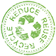 reduce, reuse, recycle logo